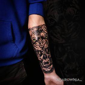 Tygrysowa czaszka