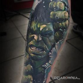 Wkurzony Hulk