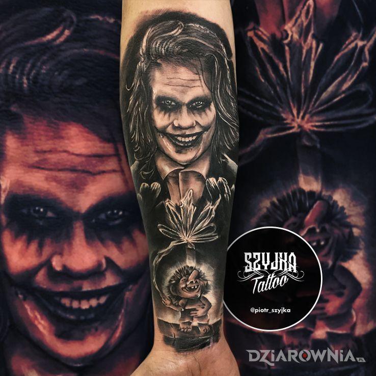 Tatuaż ha ha ha - pozostałe