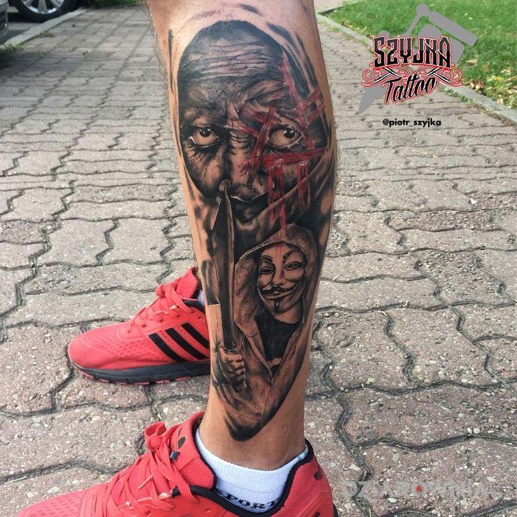Tatuaż anonymous - pozostałe