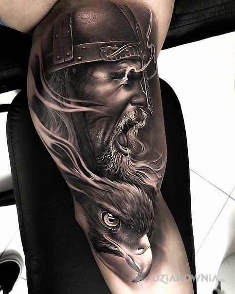 Tatuaż Wojownik Orzeł Autor Mikir6447 Dziarowniapl