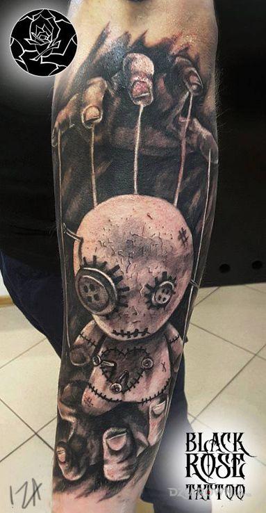 Tatuaż laleczka - pozostałe