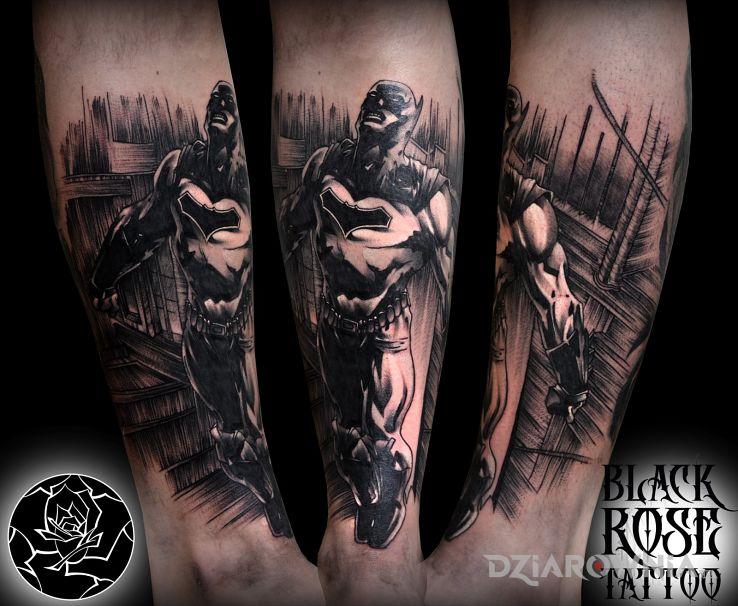 Tatuaż batman - postacie