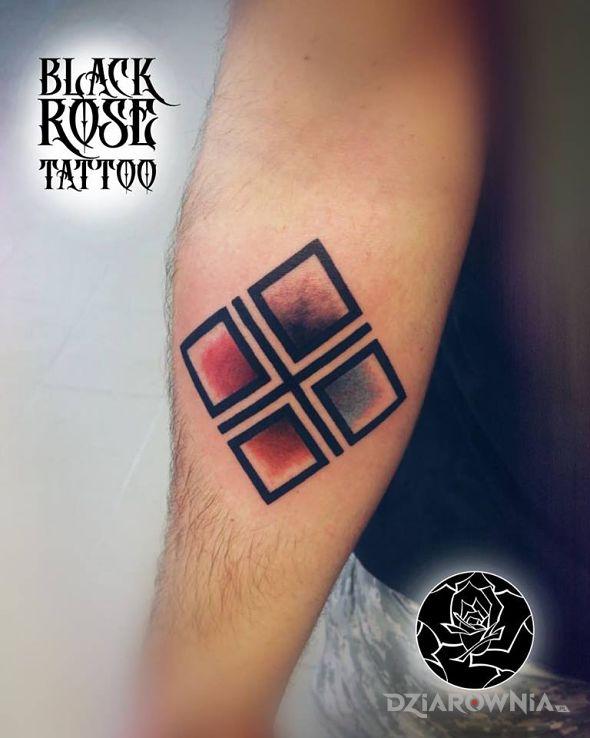Tatuaż makosh - religijne