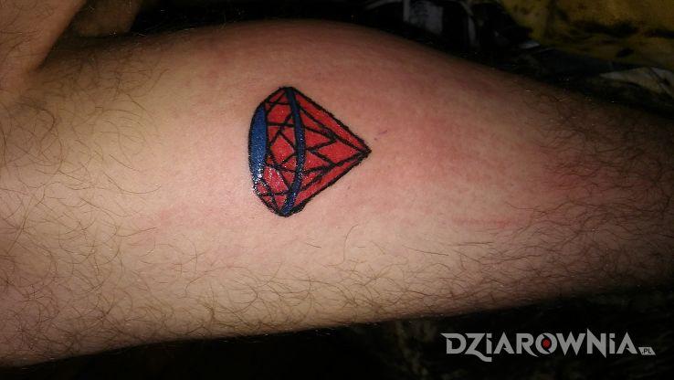 Tatuaż Diament Autor Murek156 Dziarowniapl