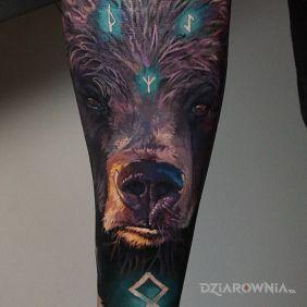 Runiczny niedźwiedź