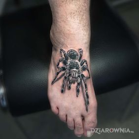 Tatuaże Na Stopie Wzory I Galeria Dziarowniapl