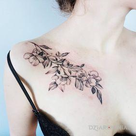 Tatuaże Na Obojczyku Wzory I Galeria Dziarowniapl