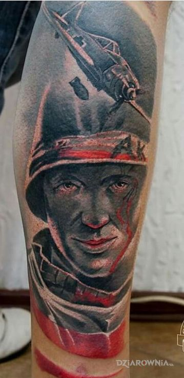 Tatuaż ak-pw - twarze