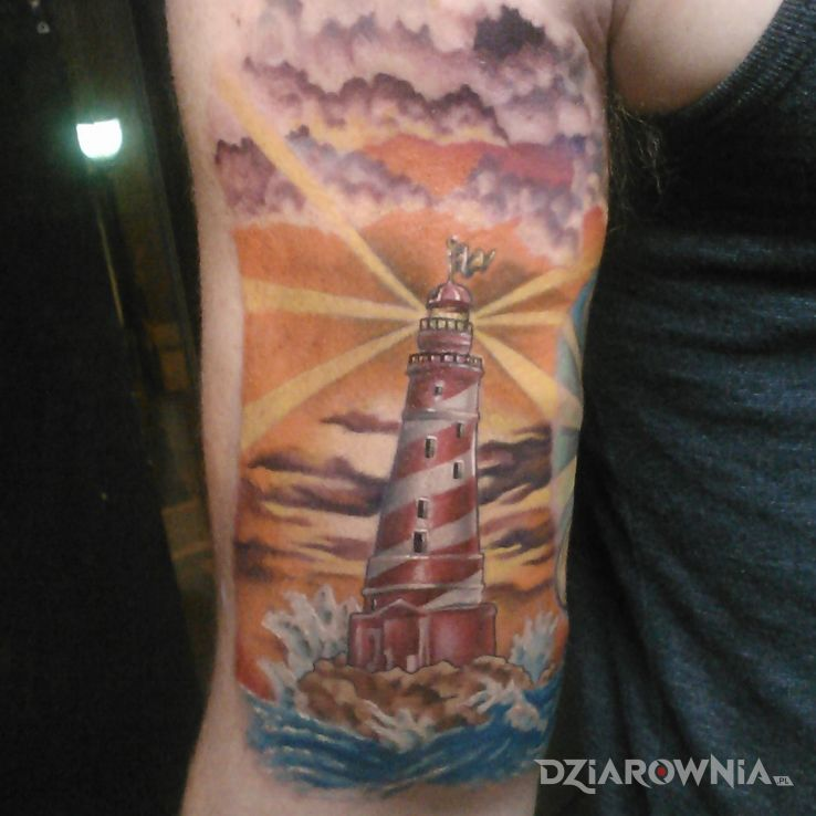 Tatuaż latarnia morska - pozostałe