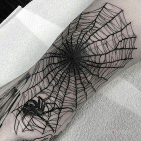 Duża pajęczyna
