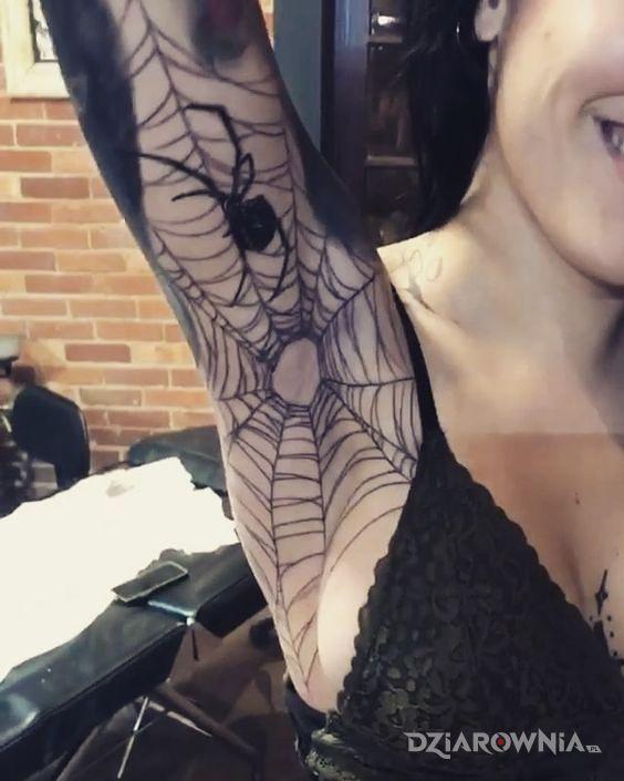 Tatuaż Pajęczyna Numer 2 Autor Pampiarz Dziarowniapl