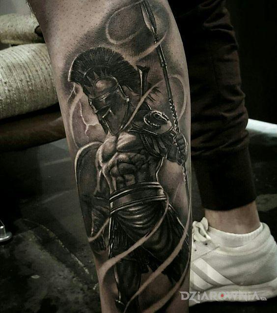 Tatuaż spartanin - postacie