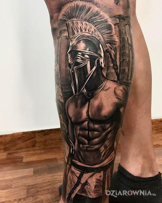 Tatuaż sześciopak - realistyczne