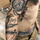 Tatuażem po mapie