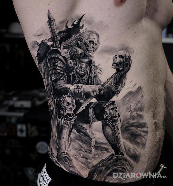 Tatuaż nekromanta - postacie