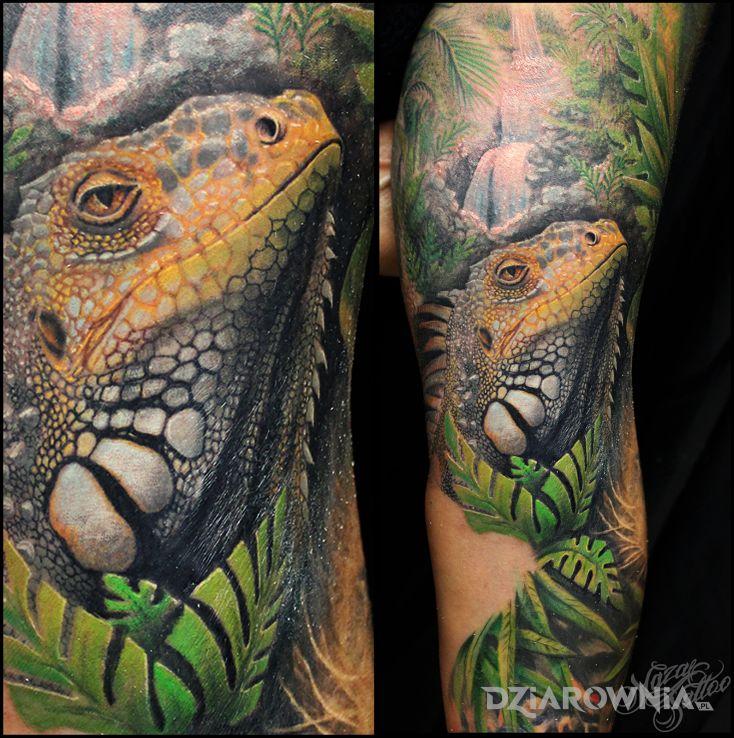 Tatuaż cover pumy - seksowne