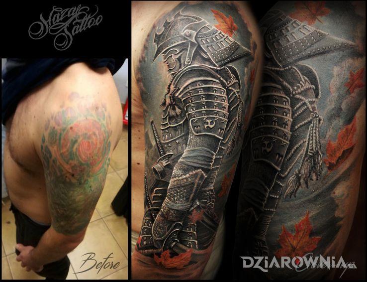Tatuaż wojownik-  cover - realistyczne