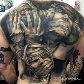 Tatuaz z przekazem