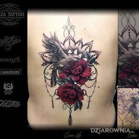 Cover róże mandala