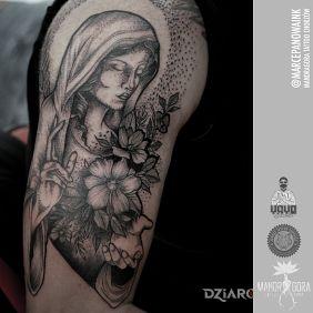 Tatuaże Religijne Wzory I Galeria Dziarowniapl