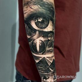 Oko Horusa, Egipska tematyka, Egipt, oko