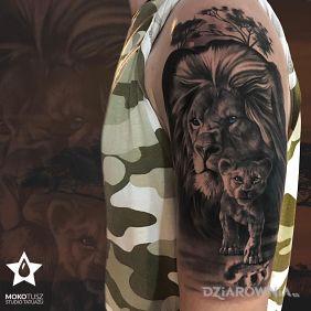 Tatuaże Na Ramieniu Wzory I Galeria Dziarowniapl