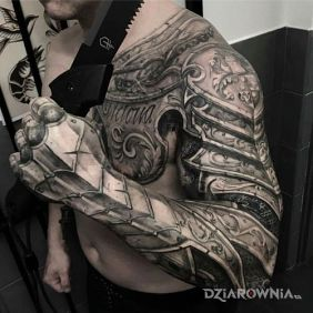 Tatuaże Rękawy Wzory I Galeria Dziarowniapl