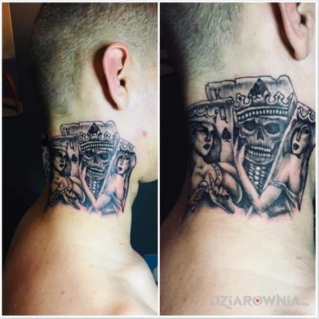 Tatuaż czacha - czaszki
