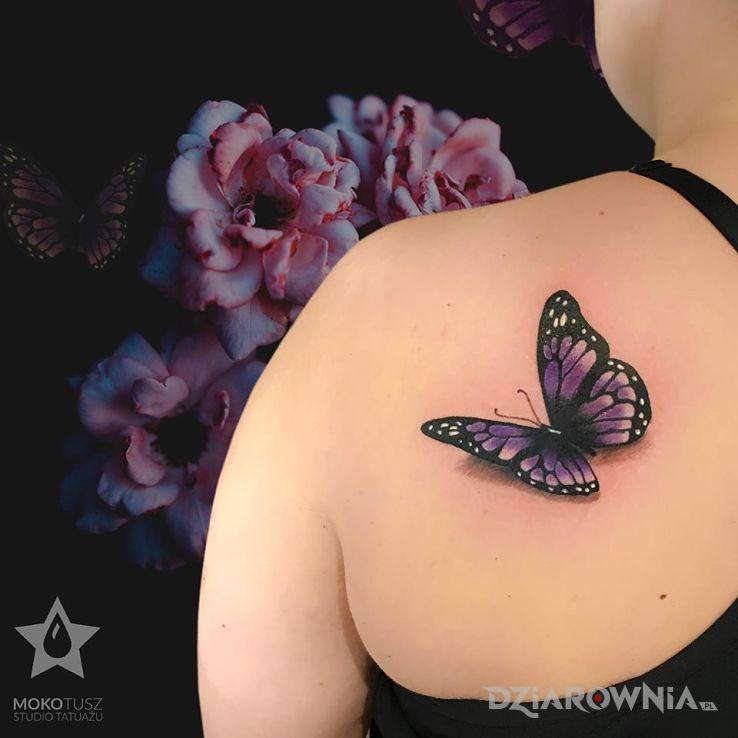 Tatuaż butterfly tattoo - seksowne