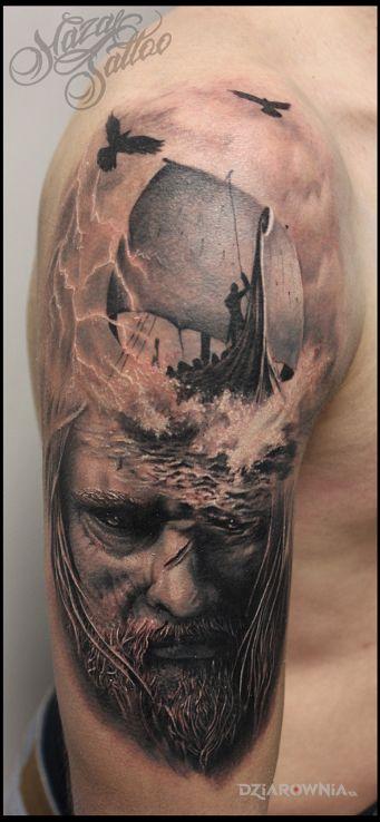 Tatuaż posejdon - postacie