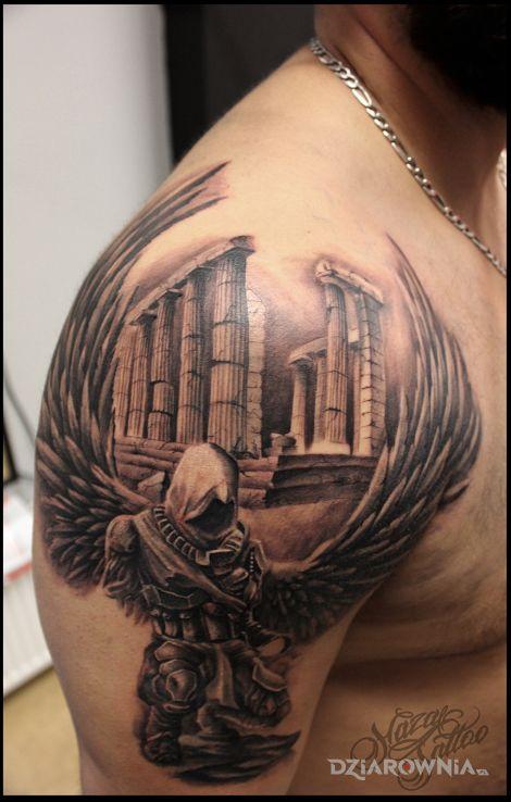 Tatuaż assassin - twarze
