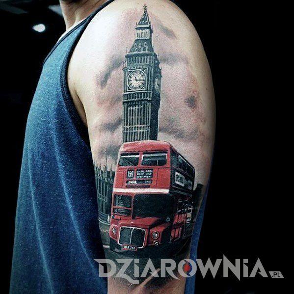 Tatuaż big ben