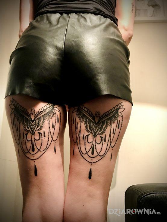 Tatuaż idealny - mandale