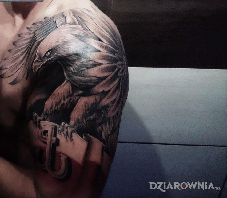 Tatuaż orzeł - zwierzęta