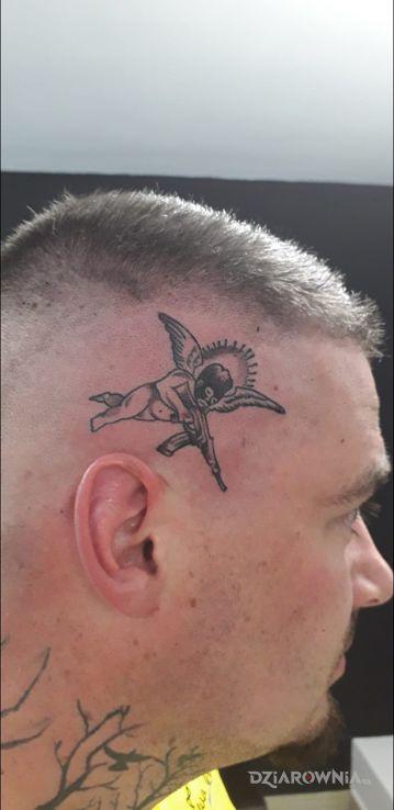 Tatuaż aniołek - anioły