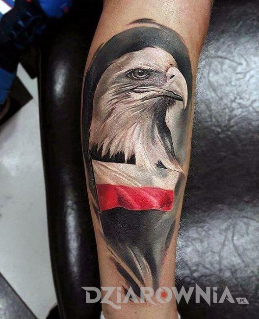 Tatuaż polski orzeł