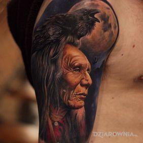 Indianin i kruk