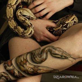 Realistyczny wąż