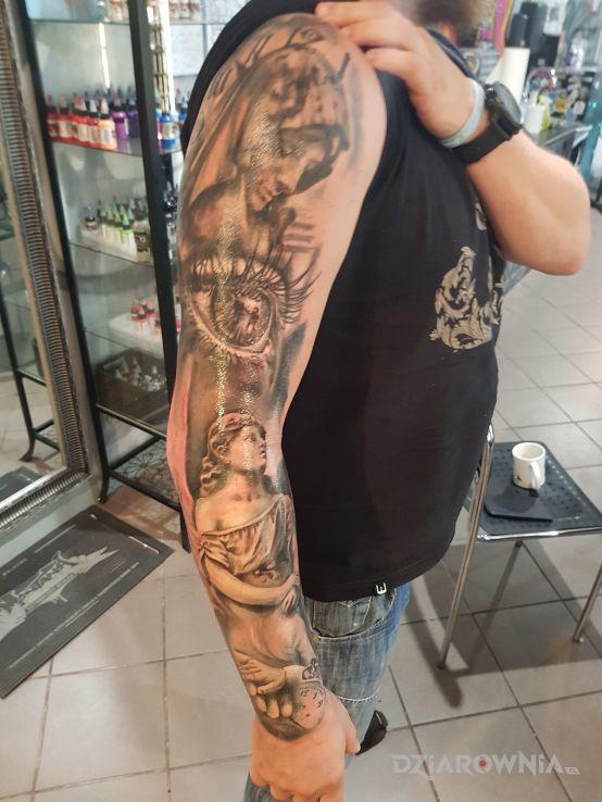 Tatuaż mój pierwszy - anioły