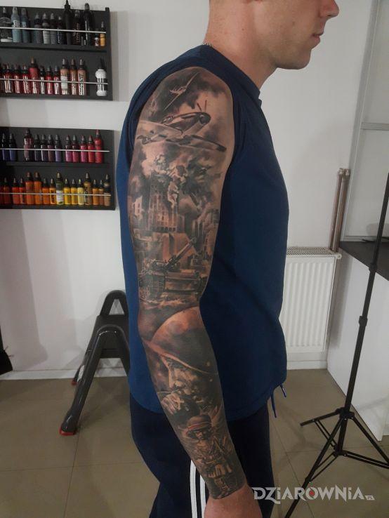Tatuaż patriotyczny - patriotyczne