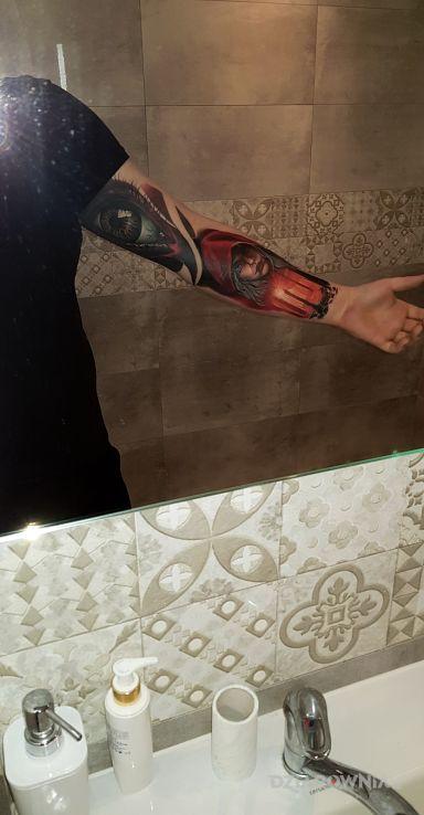 Tatuaż początek większego projektu - pozostałe