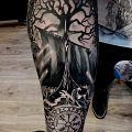 Wycena tatuażu - Przedramię-tematyka nordycka