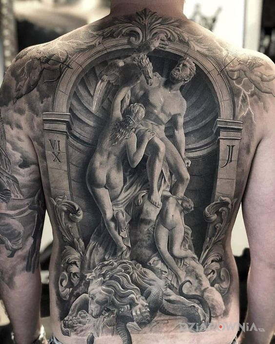 Tatuaż epicka dziara - postacie