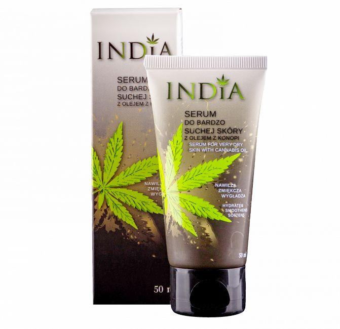 Serum do bardzo suchej skóry twarzy i dłoni India Cosmetics