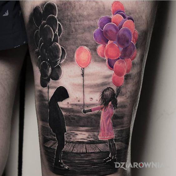 Tatuaż trochę kolorytu - 3D