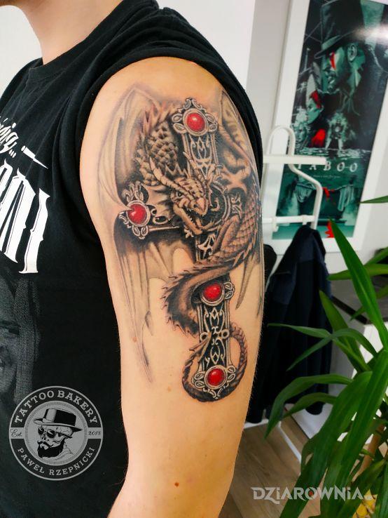 Tatuaż smok - smoki