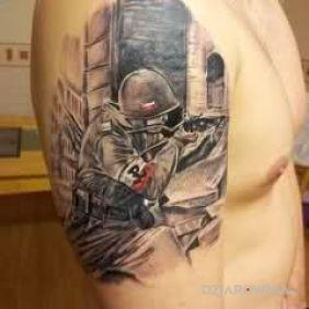 Patriotyczny tatuaż