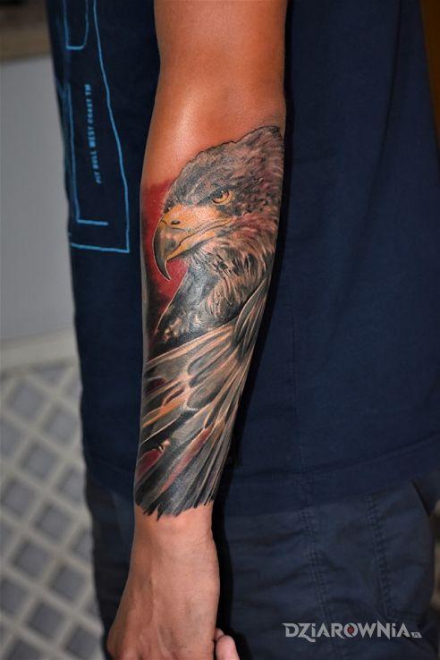 Tatuaż orzeł - patriotyczne