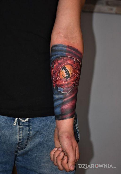 Tatuaż 14 ręki pełne wypełnienie - kolorowe
